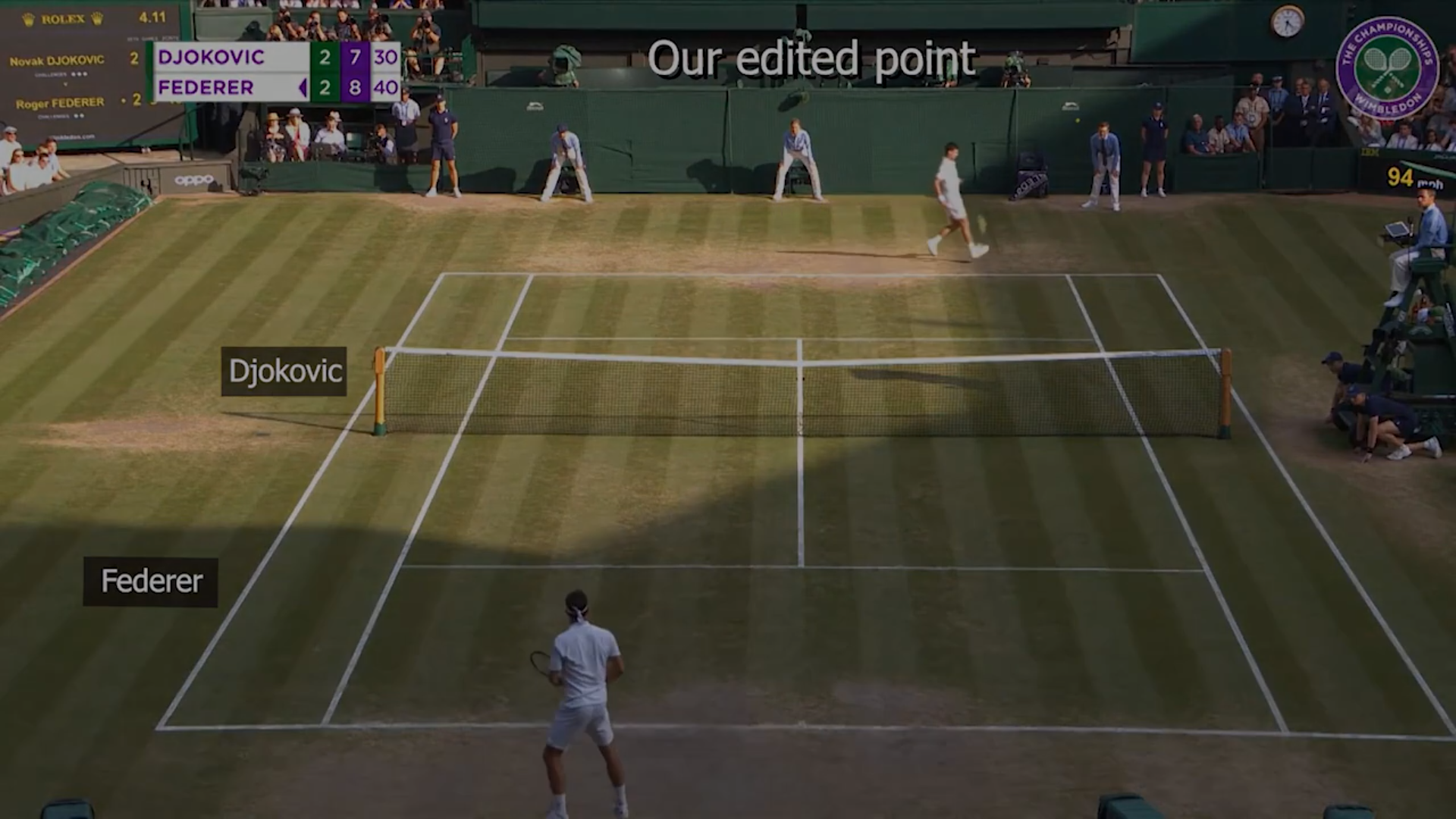 Vid2Player: Controllable Video Sprites that Behave and Appear like Professional Tennis Players. Retrieved from Youtube.