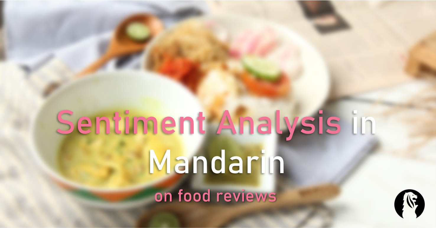 Sentiment Analysis in Mandarin on Food Delivery Reviews